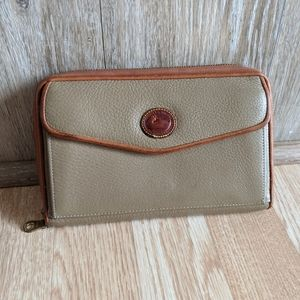 Vintage Dooney & Bourke clutch wallet/ purse